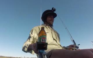 Drone fishing chair