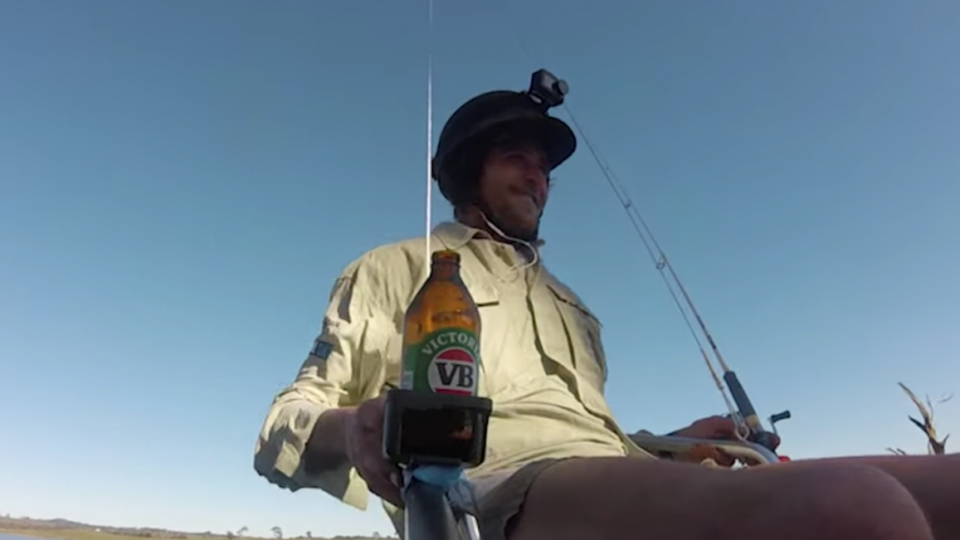 Drone fishing chair