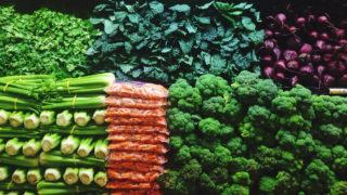 Groceries, carrots kale corn beets etc.