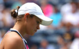 Ash Barty was defeated by Qiang Wang.