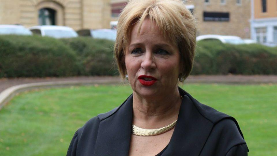 Tasmanian speaker Sue Hickey.