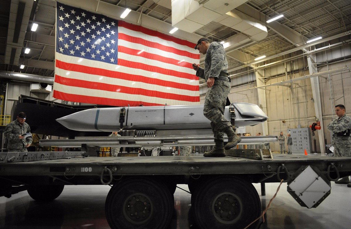 The US has a total of 6550 warheads. Photo: US Military