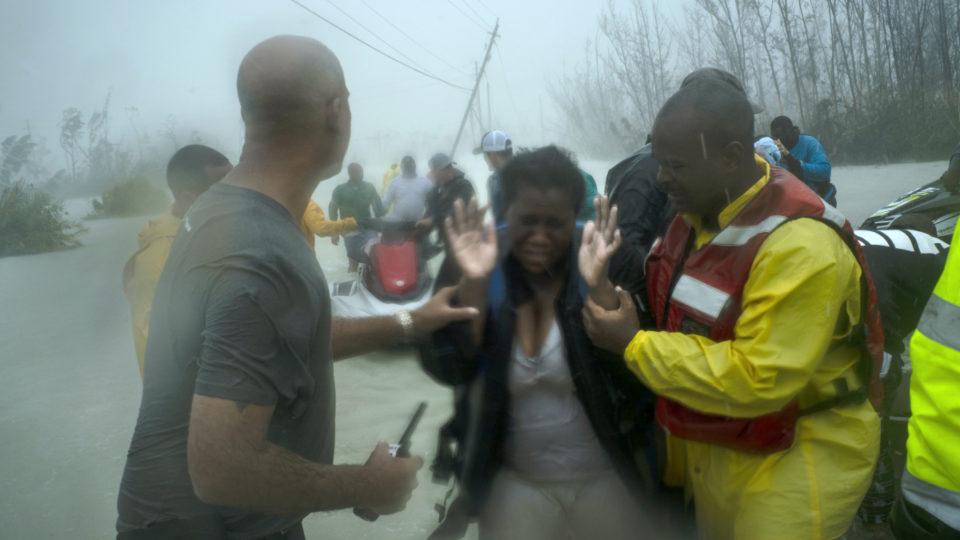 footage dorian bahamas devastation