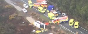 new zealand tourist bus crash