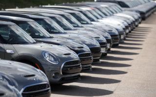 falling new vehicle sales