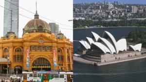 Melbourne Sydney