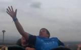 rollercoaster midair catch phone