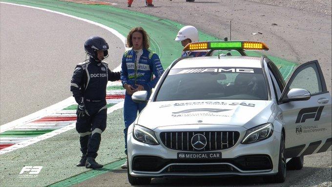 Motorsport: Australian driver survives airborne F3 crash at