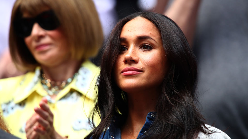 Meghan Markle US Open final 2019