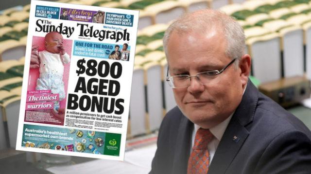 Promised $800 pensioner bonus delivered to less than 1 per cent of seniors