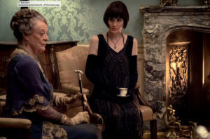 Maggie Smith Michelle Dockery