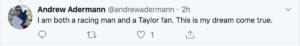 Taylor Swift tweet