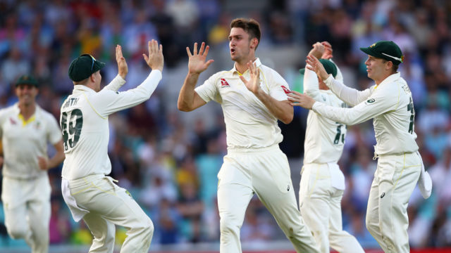 Ashes 2019: Marsh saves the day for sloppy Australia at The Oval