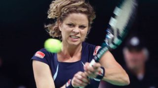 kim clijsters return tennis