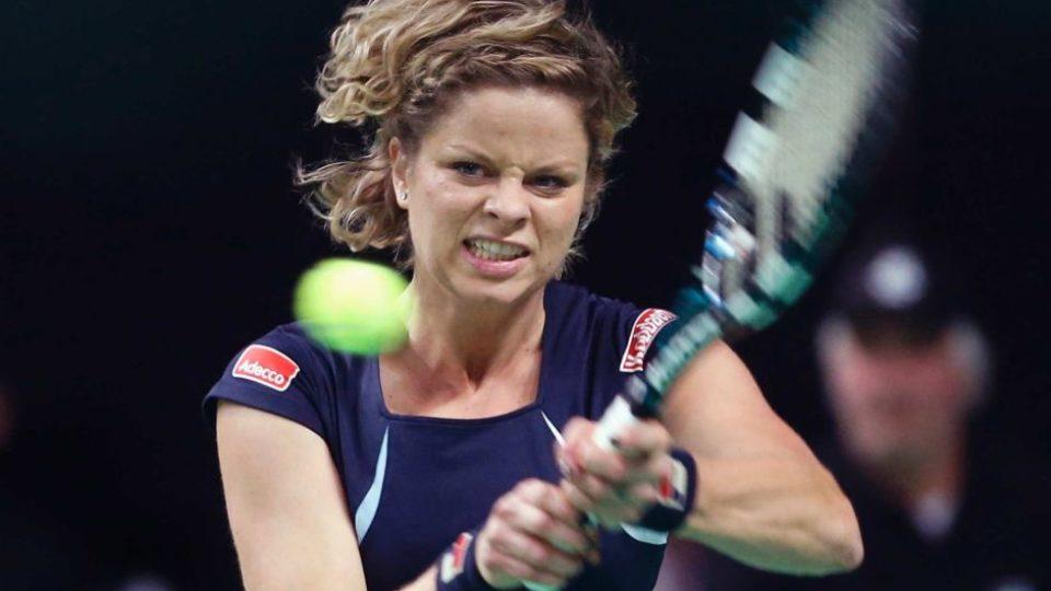 kim clijsters return tennis