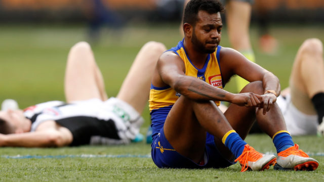 AFL fairytale turns to nightmare for champion Willie Rioli