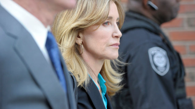Actress Felicity Huffman gets jail for college admissions scandal