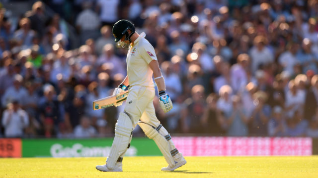The Ashes: Crook with flu, Smith keeps Australia in fifth Test
