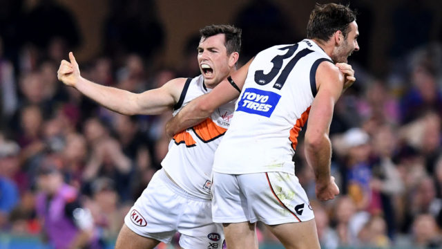 Smallest Giant conjures biggest moment, with GWS to meet Magpies