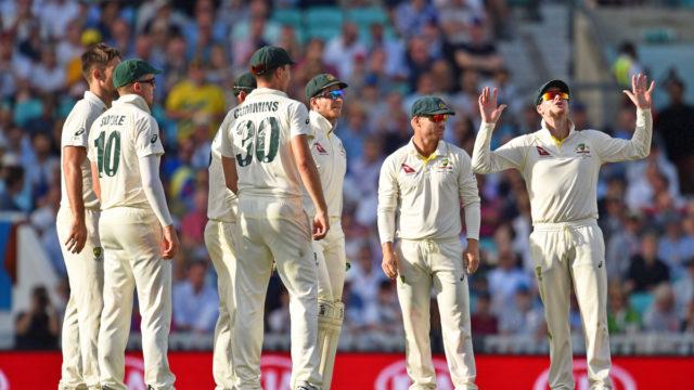 Australia's 'challenging' third day of final Ashes Test, despite Smith wonder catch