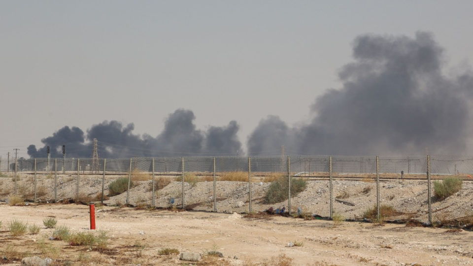 The Abqaiq oil processing plant was hit in the attacks.