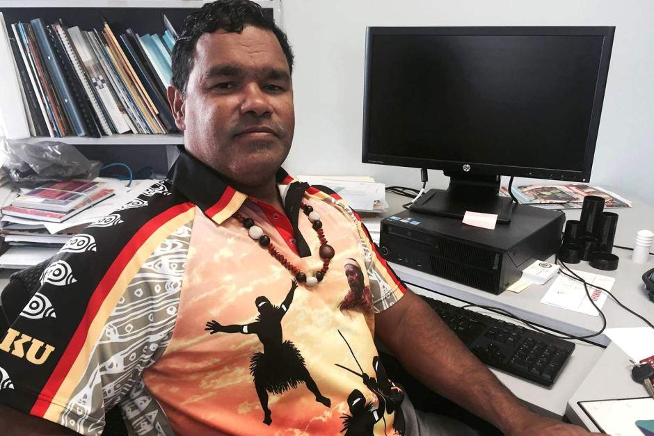 Wayne Butcher, Mayor of Lockhart River Aboriginal Shire Council.