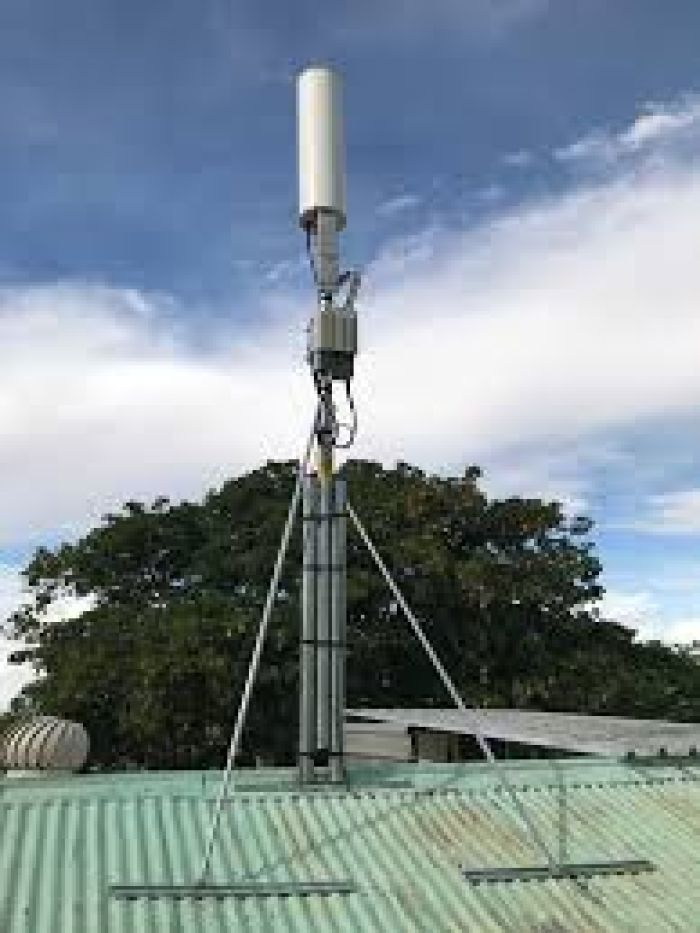 A satellite small cell.