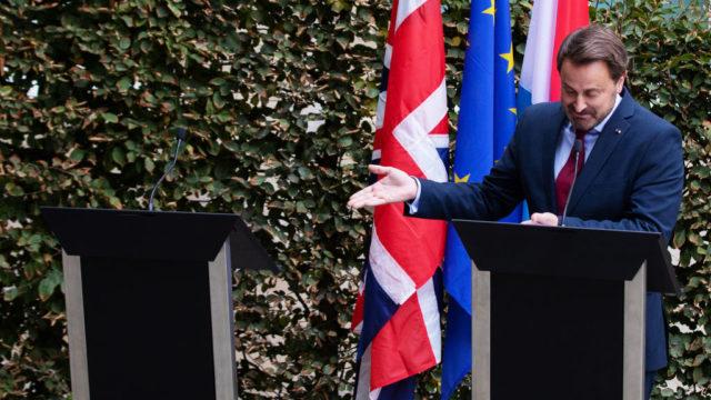 Boris Johnson disappears to avoid jeering British retirees