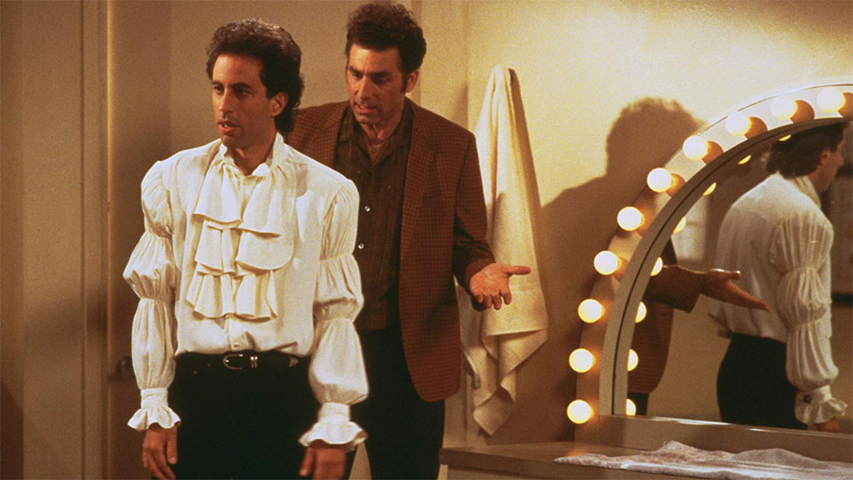 Jerry Seinfeld Michael Richards