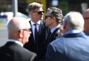 danny frawley funeral