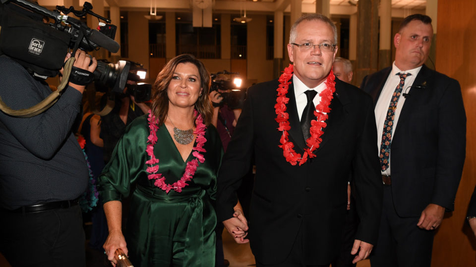 Scott Morrison at Midwinter Ball.