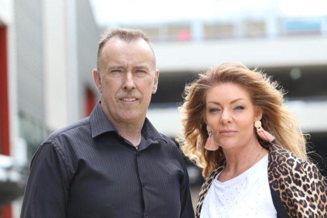 Mr Sengstock and his wife Lisa. Photo: Mr Sengstock