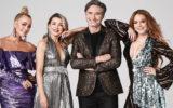 Jackie O Dannii Minogue Dave Hughes Lindsay Lohan
