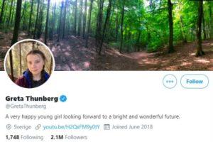 greta thunberg donald trump twitter