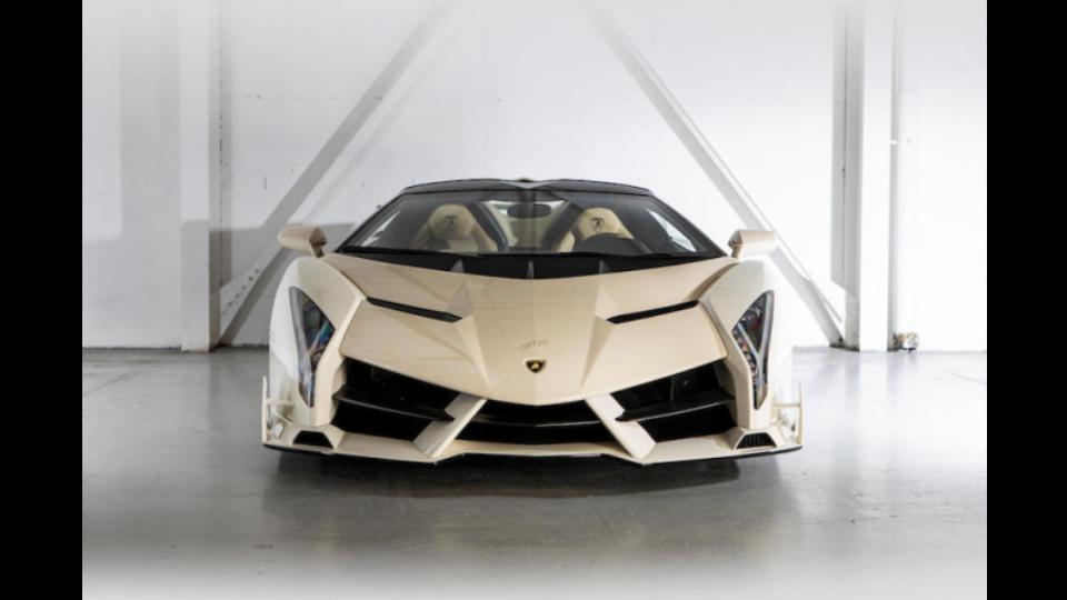 A Lamborghini Veneno Roadster.