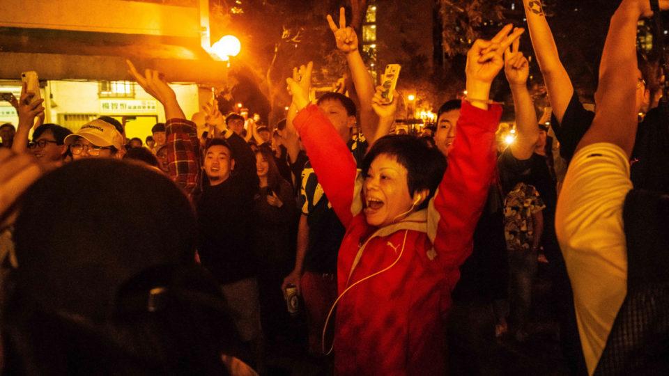 hong kong election beijing