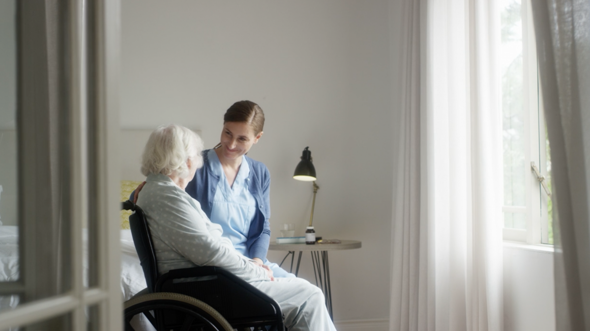 Aged care workers wait for vaccine