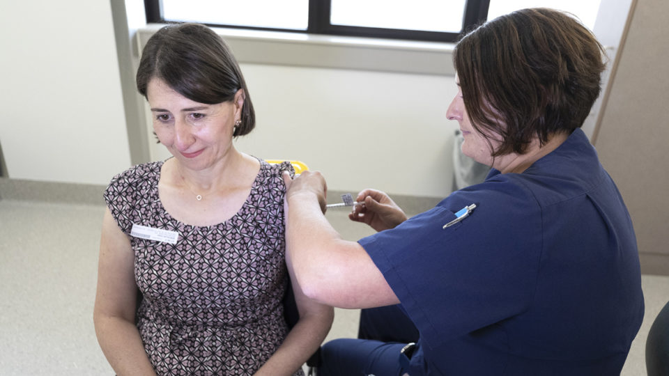 gladys berejiklian vaccine delays