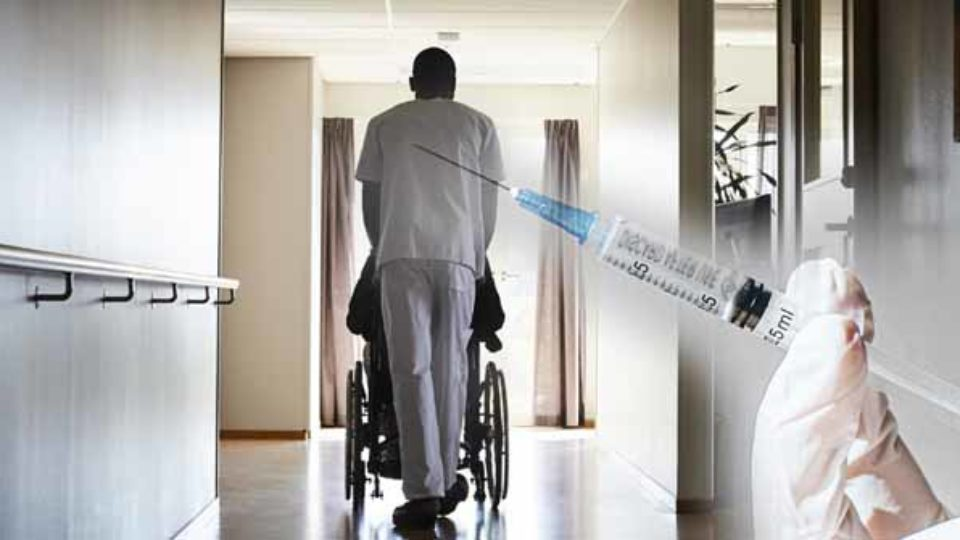 Aged-care vaccines behind
