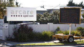 aged care virus