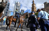 sydney lockdown protest