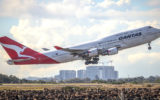 qantas international flights