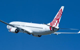 A Virgin Australia plane