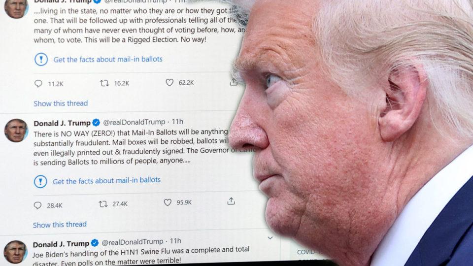 donald trump twitter free speech
