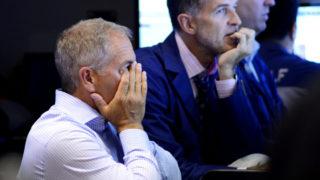 stocks fall.