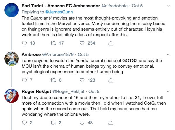 Marvel tweets