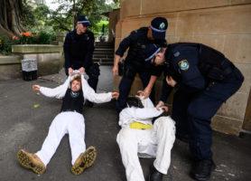 extinction rebellion arrests bail