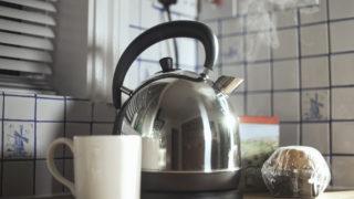 office worker pee kettle