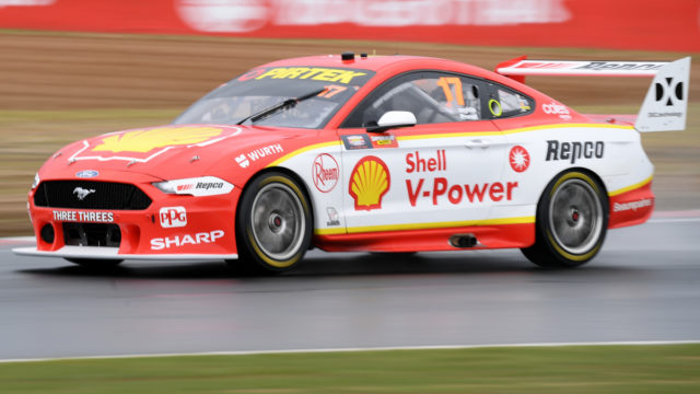 Motorsport: McLaughlin ponies up for Bathurst provisional pole