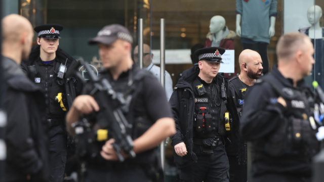Stabbing terror attack injures five in Manchester